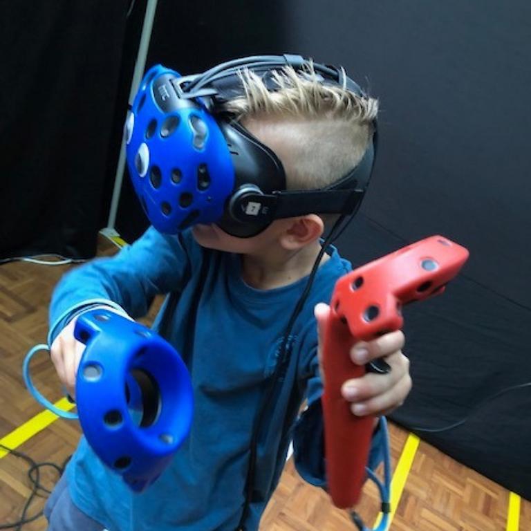 The virtual reality arcade