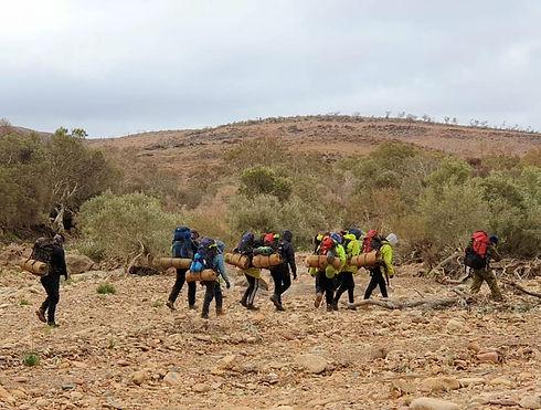 Op Flinders_yankinina_group hiking.jpg