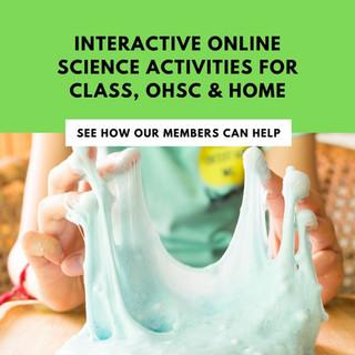 Looking for online STEM activities?