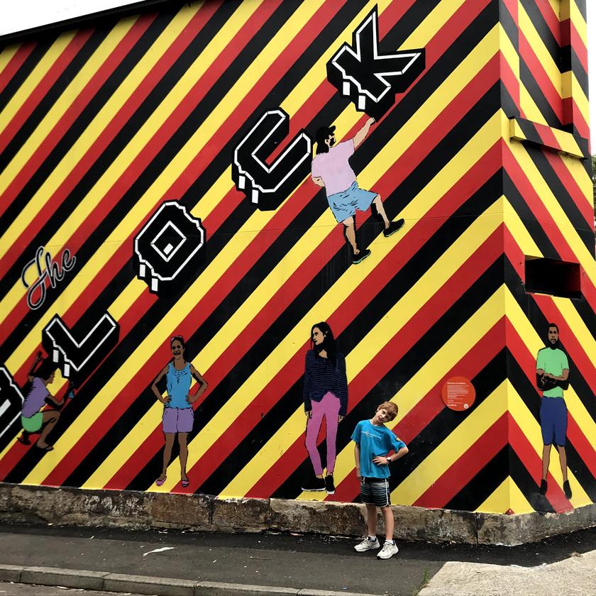 rekko rennie welcome to redfern mural