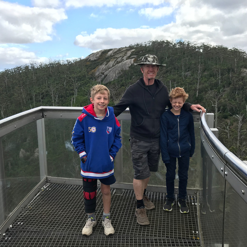 boys at the end of the sky walk
