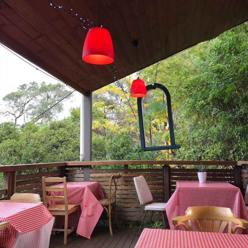 alfresco dining at cafe in darlington