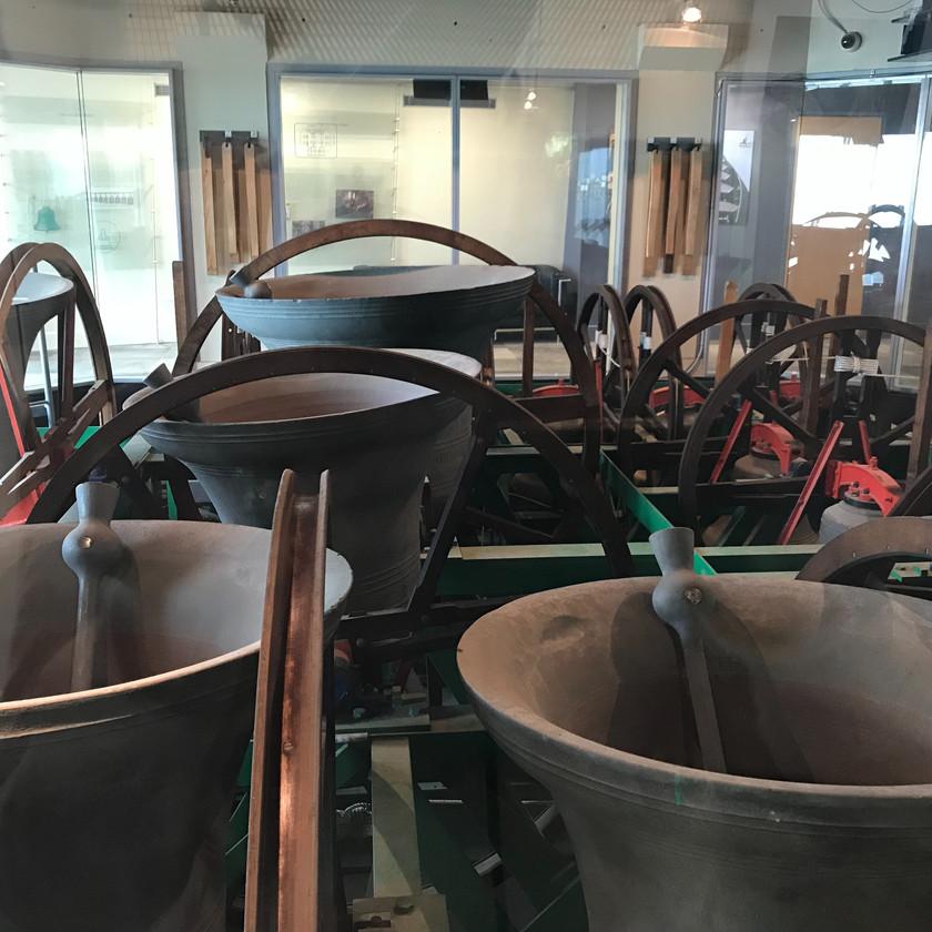 bells in swan bell tower