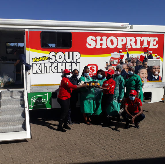 Shoprite blessed our staff with soup today
