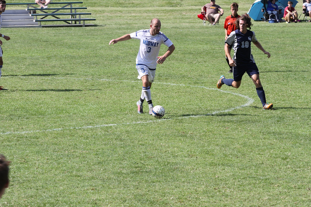 Midway Men's Soccer earns important 1-0 victory at IU East