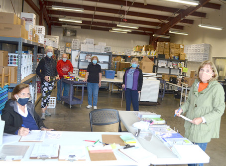 Community supports food pantry during COVID pandemic