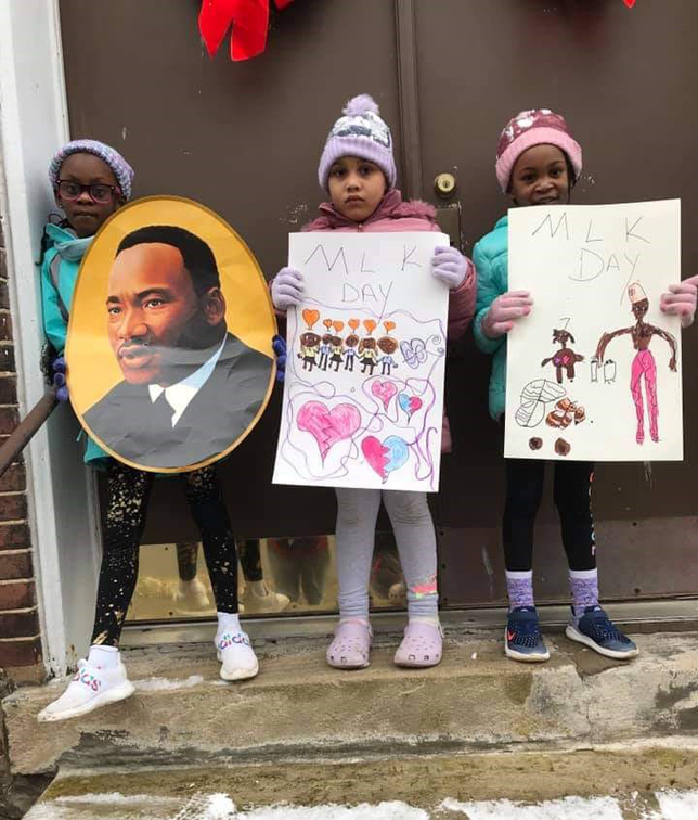 MLK kid marchers