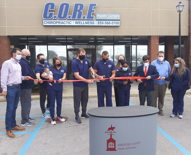 CORE ribbon cutting