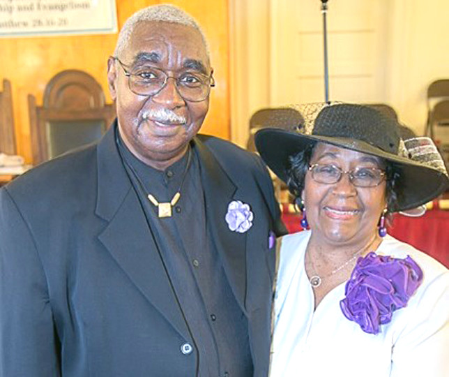 """FIRST BAPTIST CHURCH members will celebrate the 30th anniversary of their pastor, the Rev. Floyd Greene, and his wife, Drexel, during an appreciation banquet on Friday, July 15. For tickets to the banquet at Embassy Suites in Lexington or additional information call (859) 227-5274. Greene, who will celebrate his 74th birthday on Aug. 26, says, """"That's been my greater satisfaction is to see lives change."""" (Photo submitted)"""