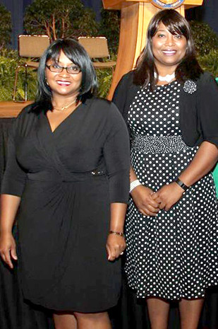YOLANDA COSTNER, left, a Woodford County native, and Cassaundra Cooper made national news when they filed charges and a lawsuit involving sexual misconduct against state lawmakers in 2013. Four years later, they're both disturbed by recent similar allegations against high-ranking national politicians and others. (Photo submitted)