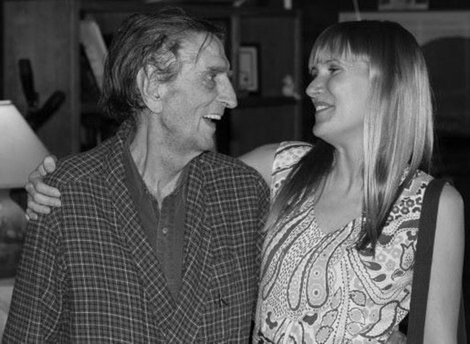 "LUCY JONES went to Los Angeles to meet the namesake of the Harry Dean Stanton Fest in 2012, where she videotaped an interview with the Kentucky-born actor. The two became friends, and after his Sept. 15 death, Jones said, ""It's impossible to meet Harry and not feel like you were a friend, because he's just that kind of a person."" (Photo submitted)"