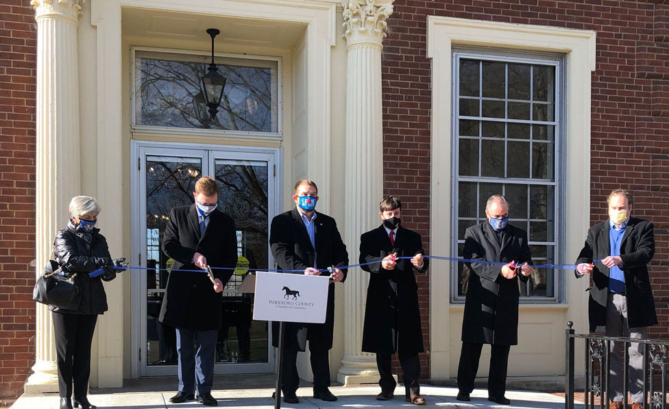 Marrs Hall Ribbon Cutting