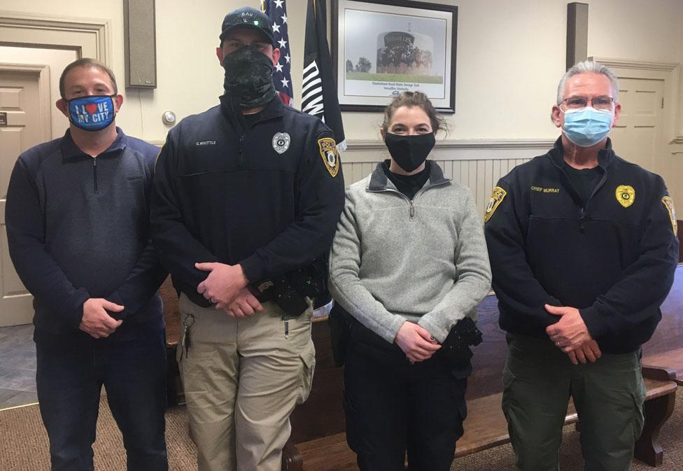 New Versailles cops