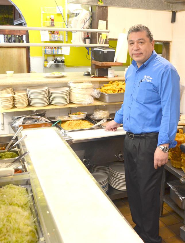 Froy Lopez in kitchen
