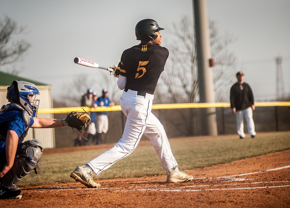 WCHS JUNIOR SKYELAR JOHNSON, pictured earlier this season, was one for four with a run scored in the Jackets win at Bryan Station. (Photo by Bill Caine)