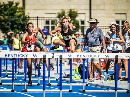 WCHS track and field competes at state meet