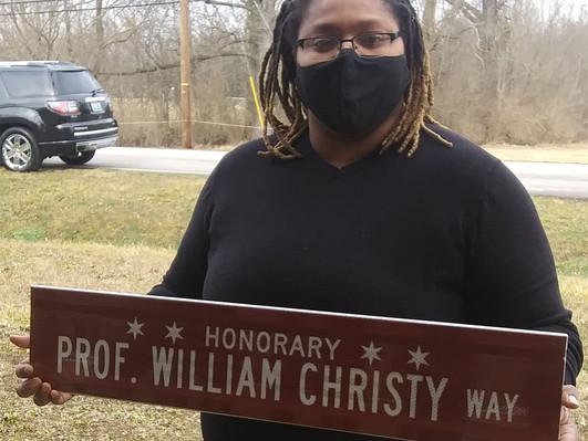 Professor William Christy Way dedicated