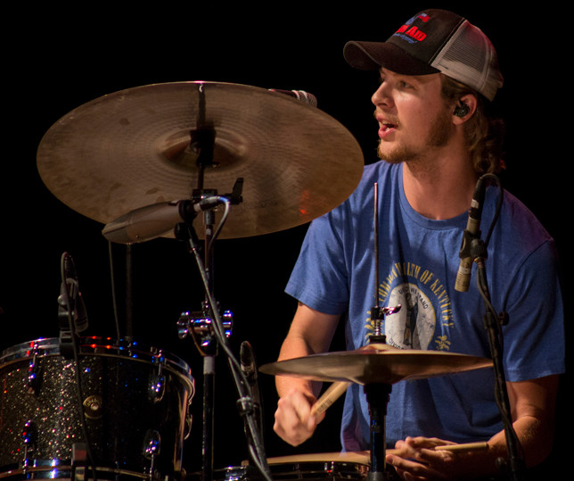 MILES MILLER, a 2011 graduate of Woodford County High School, met fellow WCHS alumni (John) Sturgill Simpson the next year. He's been the drummer for the acclaimed country and roots rock artist ever since, including playing two songs on the Jan. 14 edition of Saturday Night Live. Miller told The Sun the show was the most fun he's had on television. (Photo submitted)