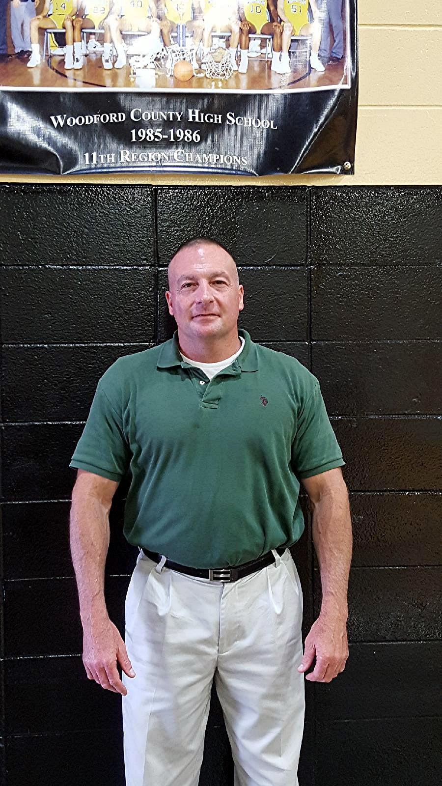 STEVE JACO was named the new head coach of the Woodford County High School girls' basketball team on Wednesday, May 17. He replaces Jay Lucas, the longtime head coach of the Lady Jackets, who announced his retirement on March 8. (Photo submitted)