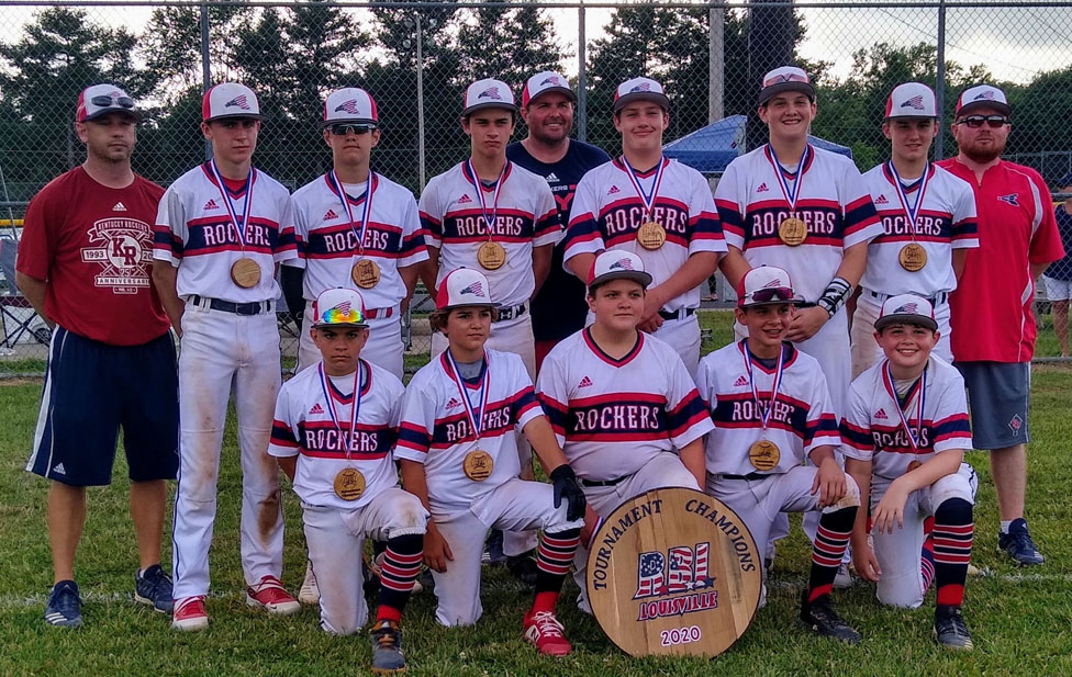 13 U Rockers baseball team