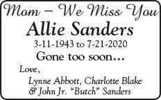 Sanders Memorial ad.jpg