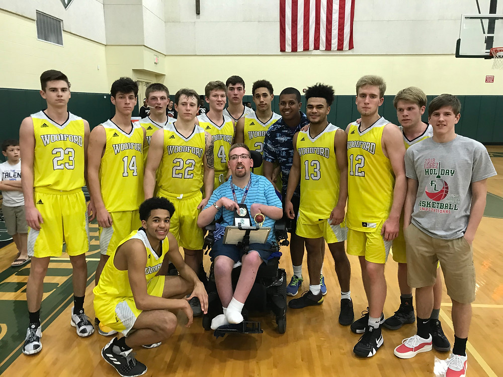 THE WCHS BOYS' BASKETBALL TEAM palced third at the Father Lopez tournament in Daytona Beach Florida Dec. 27-29. (Photo by Bo Morgan)