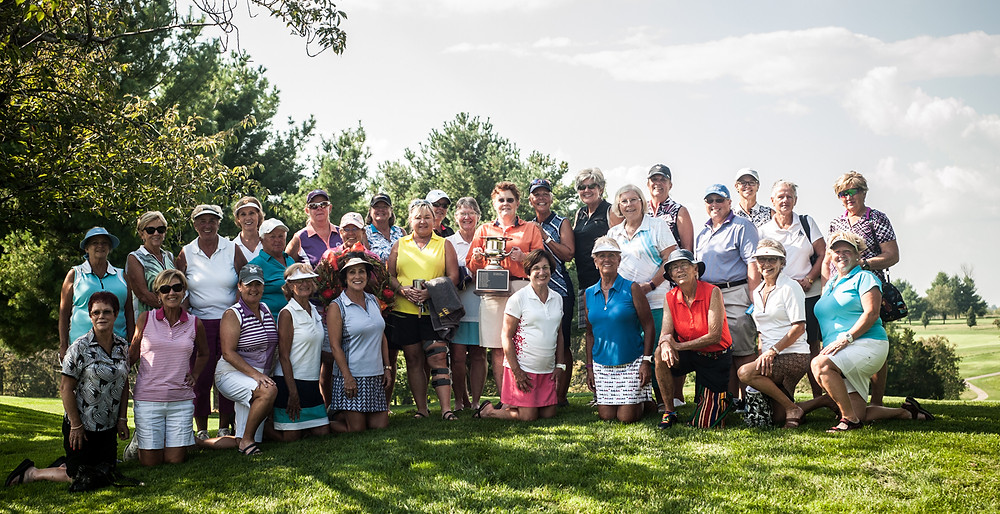 THE 39TH ANNUAL OH! SUSANNAH tournament was played at Moss Hill Golf Course on Sept. 21. Cynthia Powell was the winner with a gross score of 74. (Photo by Bill Caine)