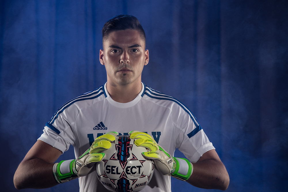 CHRISTIAN NEIRA, a former student athlete at Midway University is now a goalkeeper coach for Orlando City of Major League Soccer. Neira was an All-American for the Eagles in 2017. (Midway University Athletics photo)