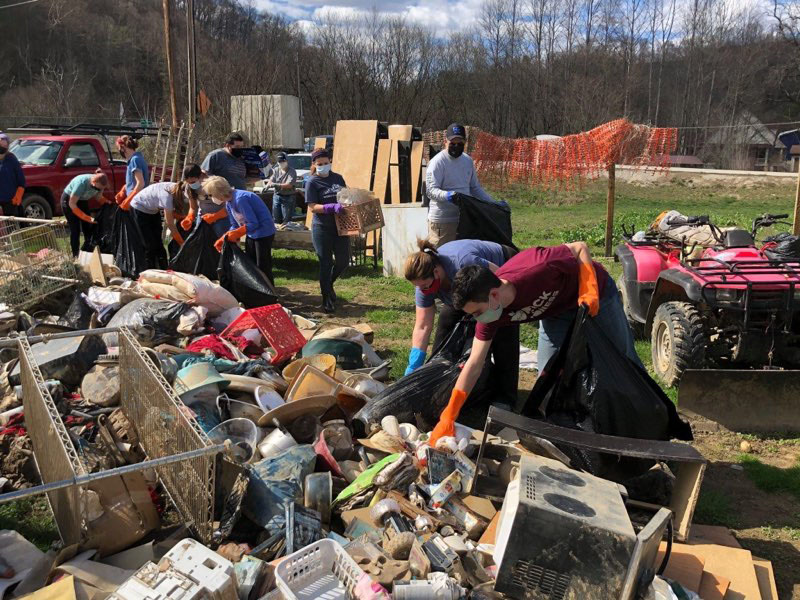Breathitt County WCHS clean up