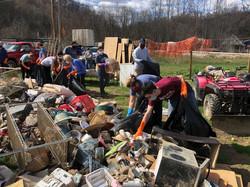 Breathitt County WCHS clean up