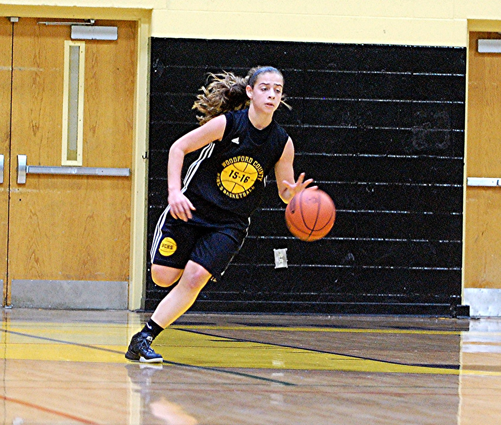 PEYTON ROSE will play point guard on the WCHS girls' basketball team this season. The junior will also be looked to as a team leader. (File photo by Rick Capone)