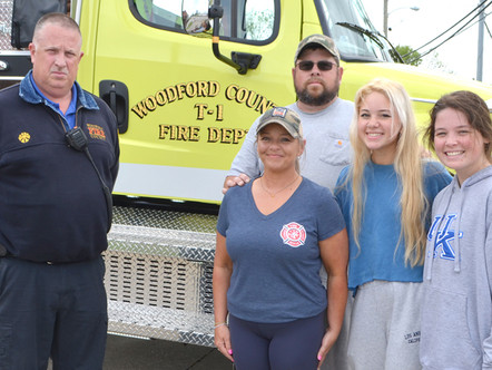 'Up for challenge' to serve as WCFD firefighter