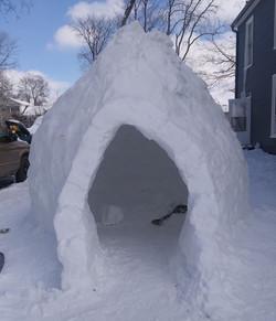 South Main Street igloo