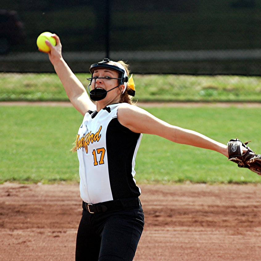 BETHANY TODD is one of the top pitchers on the Woodford County High School softball team heading into the 2017 season. The senior is also one of the top pitchers in the country and she is looking to help the Lady Jackets reach the state championships this season. (File photos by Rick Capone)