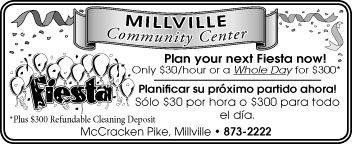 Millville Community Center Fiesta 3-4-21