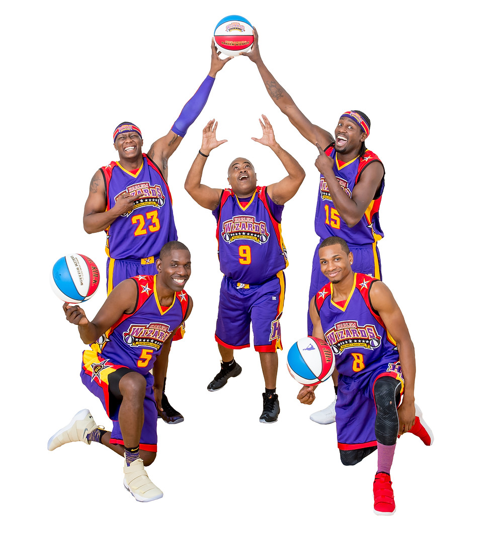 THE HARLEM WIZARDS will play an exhibition game Dec. 8 at WCHS against school and community leaders. (Photo courtesy of the Harlem Wizards)