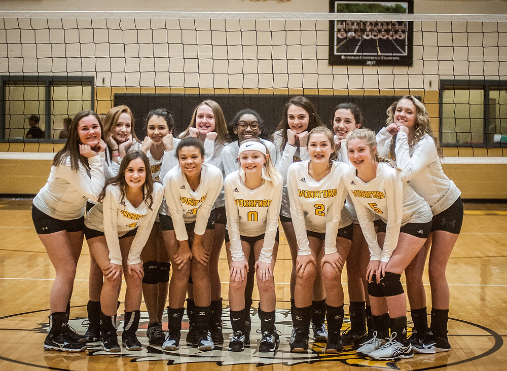 THE WCMS LADY TIGERS volleyball team was honored at eighth-grade night on Thursday, Jan. 4. Front row from left: Lilly Mullins, Olivia Smith, Kendall Carter, Morgan Warder and Madison Tracy. Back row from left: Caroline Marshall, Abba Stith, Justice Mudd, Hannah Rose, Azaria Johnson, Olivia Devore, Kenzie terry and Olivia Spears. (Photo by Bill Caine)