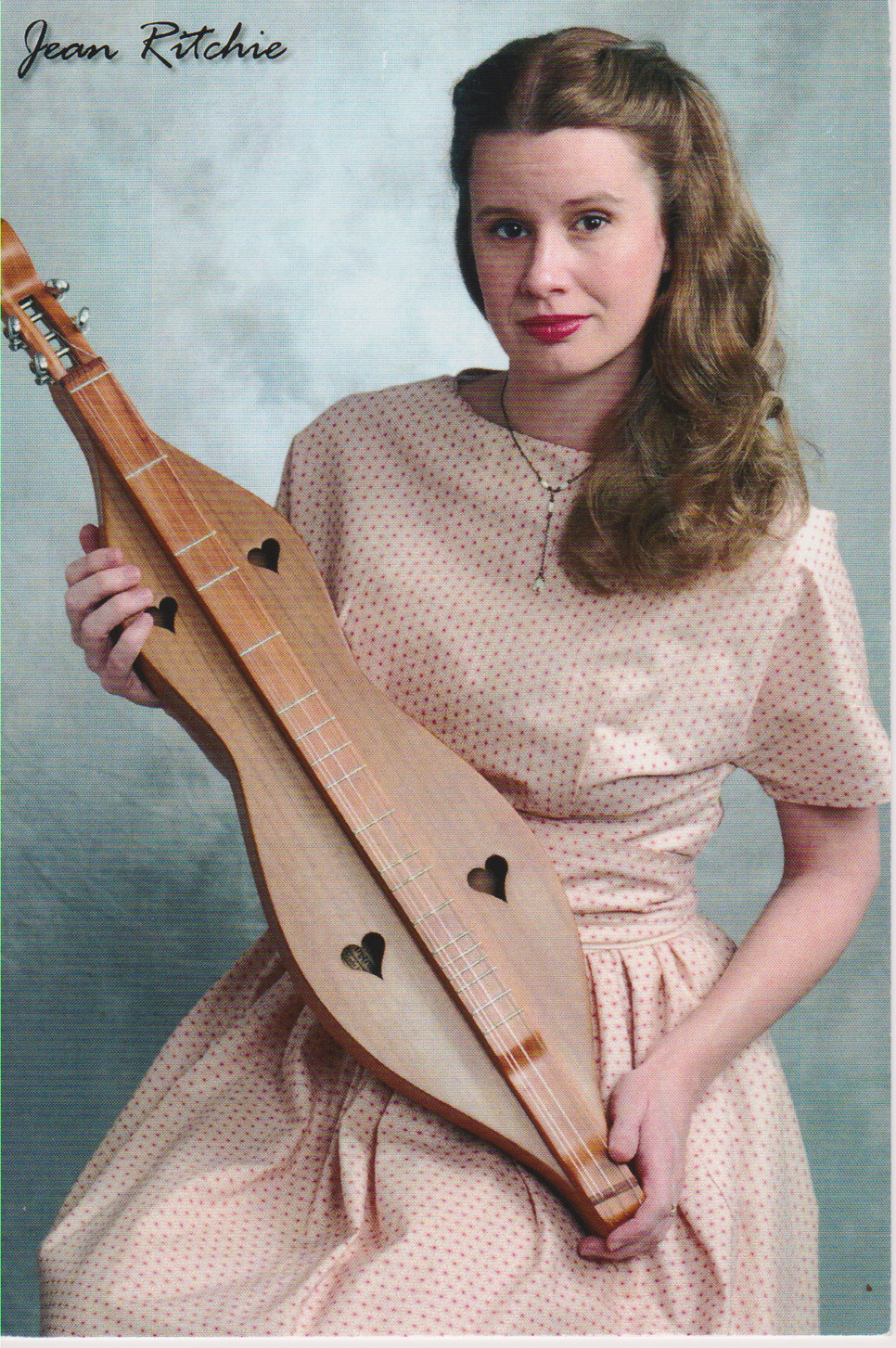 """DAMSEL WITH A DULCIMER,"" the story of Jean Ritchie, will be presented by Versailles native Rachel Lee Rogers on Thursday, Oct. 26, at the Woodford County Historical Society's library and museum at 121 Rose Hill in Versailles. (Photo submitted)"