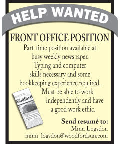 Woodford Sun Front Office Position.jpg