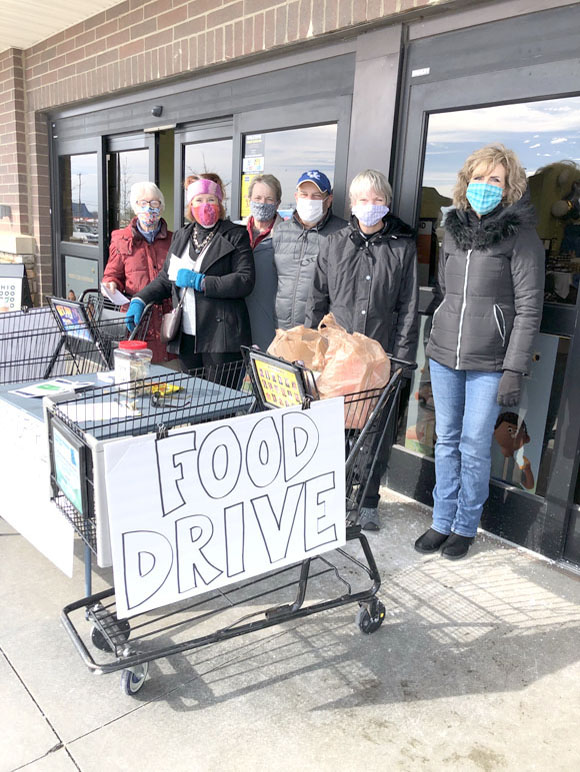 Food Drive volunteers