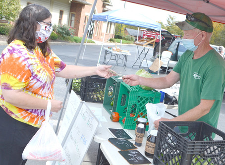 More customers buying local at Woodford Farmers' Market