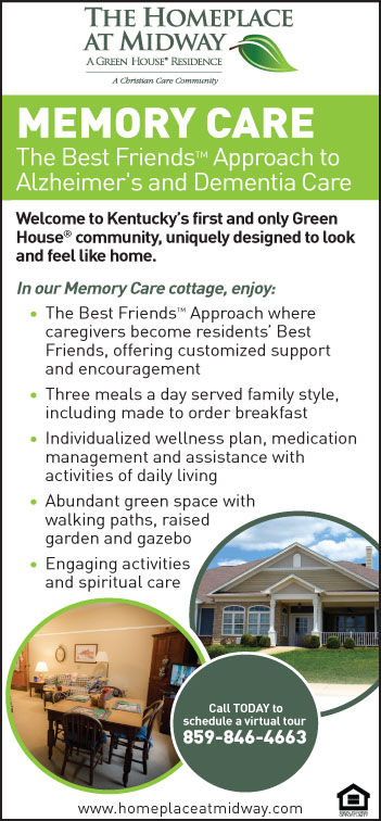 Homeplace Memory Alzheimer's Care 4-1-21