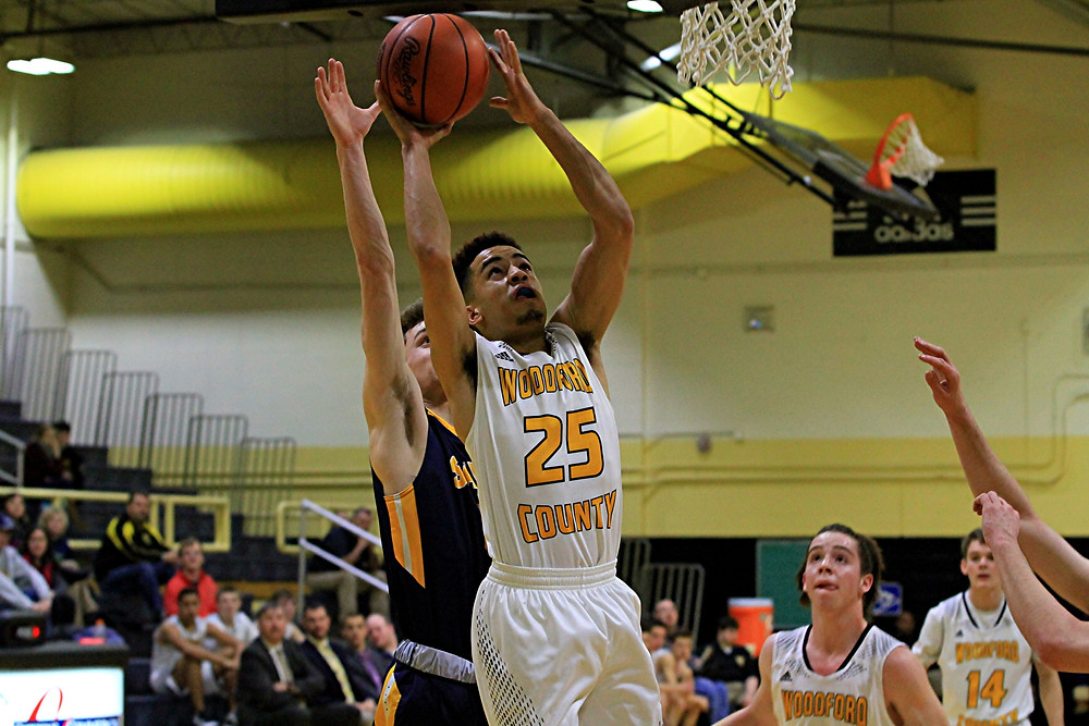 KEAGAN STROMBERG, No. 25, is one of the players to watch this season on the WCHS basketball team. (File photo by Steve Blake/multiexposures.com)