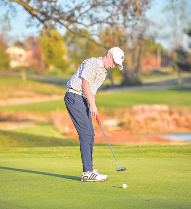 BRADFORD LACEFIELD finished in the top-five at the Golfweek Junior Tour event at the University of Kentucky May 29-31. (Photo by Bill Caine)