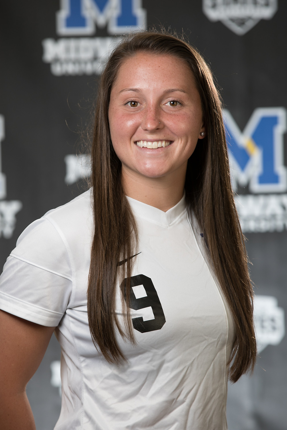 KINDSAY MILLER-RINEY was named River States Conference Women's Soccer Offensive Player of the Week for her play from Sept. 5 to 11. (Photo courtesy of Midway Univ. Athletics)