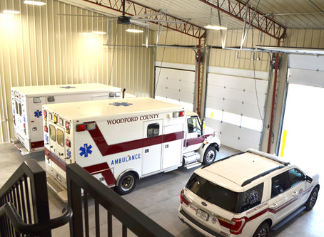 Woodford County EMS sees increase in calls to service