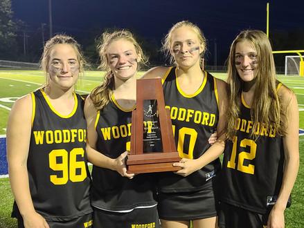 THE WCHS girls' lacrosse team end season