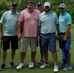 Chamber golf scramble winners