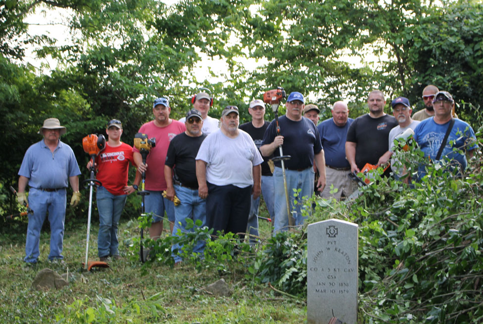 Millville Cemetery Clean Up June 2020