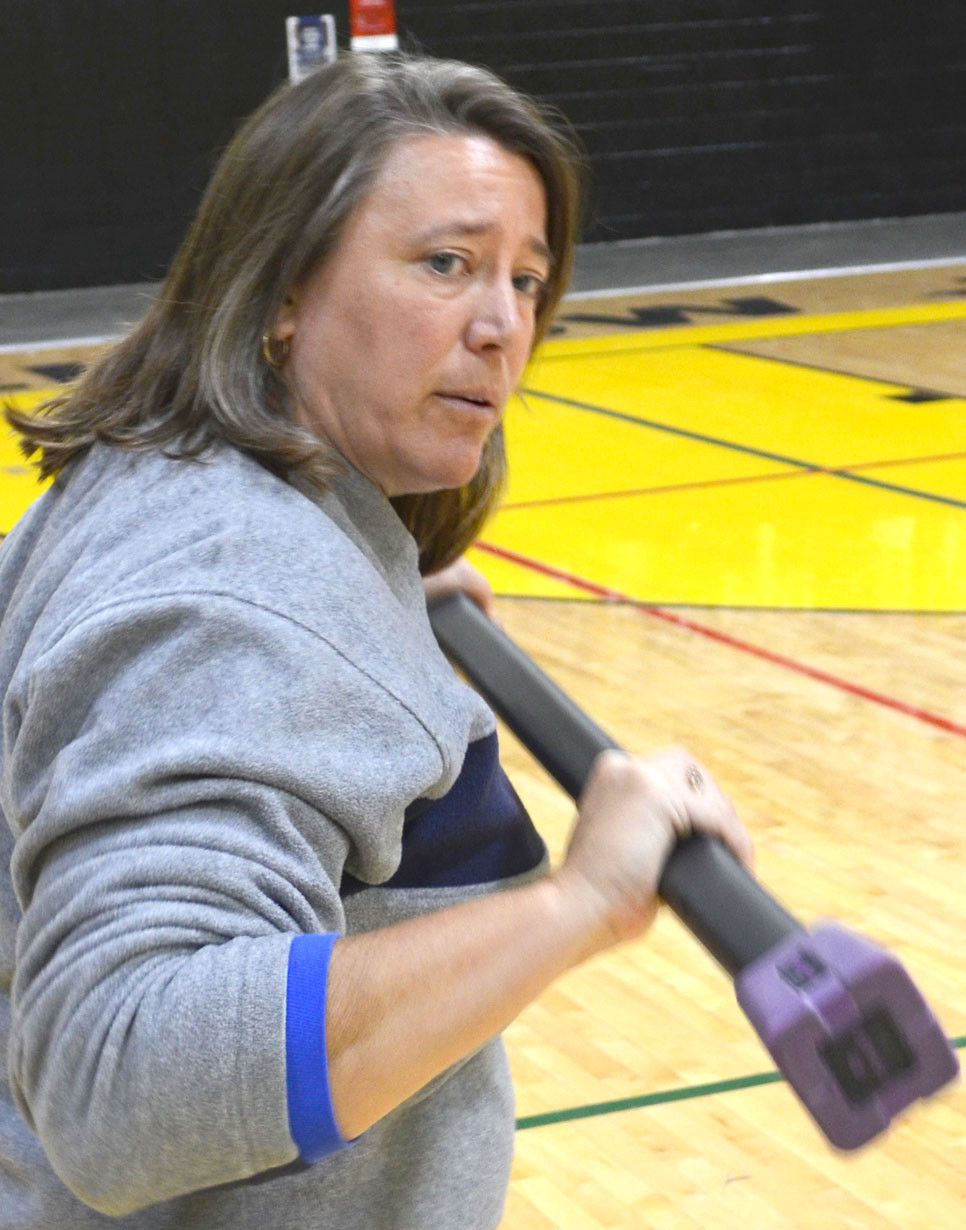 MELODY HAMILTON has been named 2018 Secondary PE Teacher of the Year by the Kentucky Association for Health, Physical Education, Recreation and Dance. (File photo by Bob Vlach)